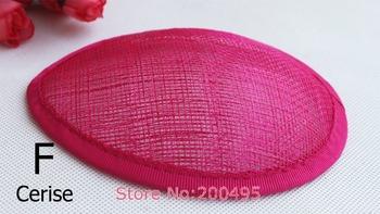20pcs/lot Millinery Hat Form Fascinator Base Wholesale And Retail #11Color