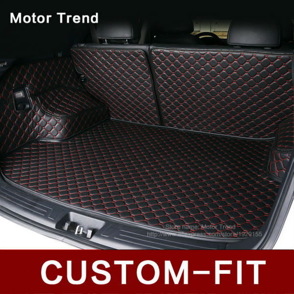Custom Fit Car Trunk Mat For Audi A1 A3 A4 A6 A8 Q3 Q5 Q7