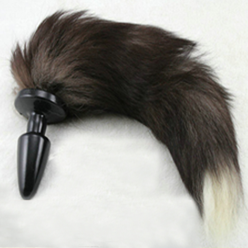 2015 Sex Toys Sex Products Fox Dog Tail for Roleplay Fancy Dress Cosplay Anal Plug For