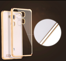 Plating Gilded TPU Phone Silicone Soft Back Case Cover Huawei Honor Mate S/ 7/ 8 Ascend P8/ P9/ P9 Plus/ Lite G9 V8 Bag - Vgood International Digital Accessories store