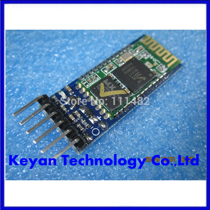 10pcs/lot 2.4G GHz Serial Port Bluetooth Module HC-05 Master Slave For GPS Receiver MCU Free Shipping Dropshipping(China (Mainland))