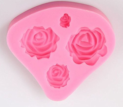 Silicone Roses Baking Mold for Cake Decoration