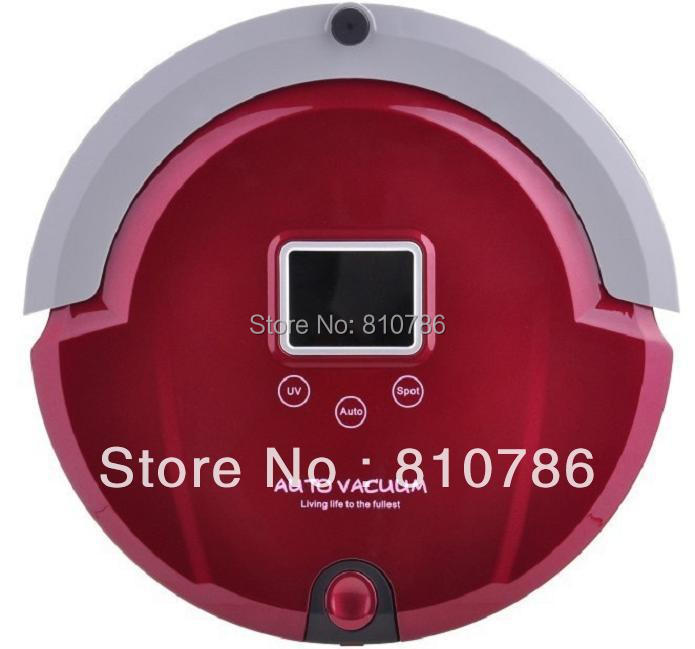 Only For Russian Buyer/The Best And Newest Robot Vacuum Cleaner+ Low Nosie +more than 90 minutes working time(China (Mainland))