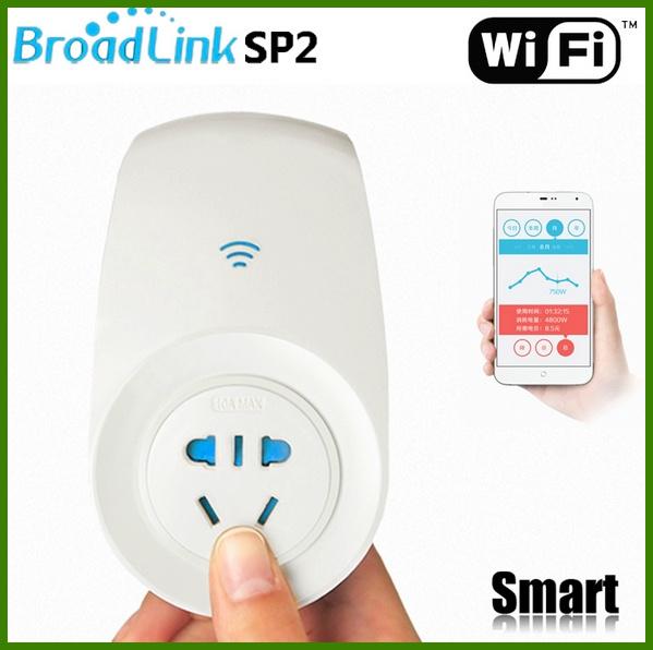 Broadlink SP2,Smartphone Phone Wireless Remote control socket power supply plug wifi/ir/RFfor home appliance - MIXI store