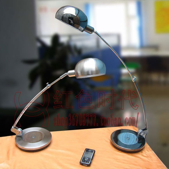 Exquisite table work lamp modern stainless steel retractable decoration lamp(China (Mainland))