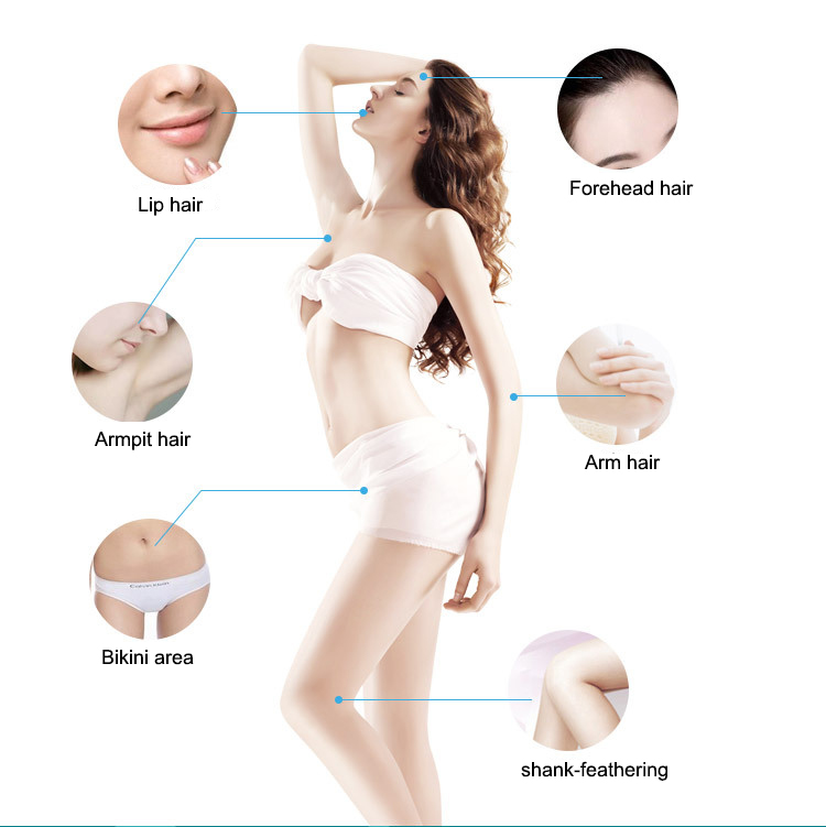 Permanent Hair Removal Laser Epilator Home Lazer Epilasyon Shaving Depilador Wholde Women Depilador Laser Hair Removal Permanent(China (Mainland))