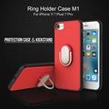 For iPhone 7 7 Plus Case Original ROCK 3D Finger Ring Holder Case Carcasas Fundas Para