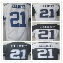 Best quality 2016 New Draft Pick 21 Ezekiel Elliott 9 Tony Romo 22 Emmitt Smith 82 Jason Witten 88 Dez Bryant elite jerseys(China (Mainland))