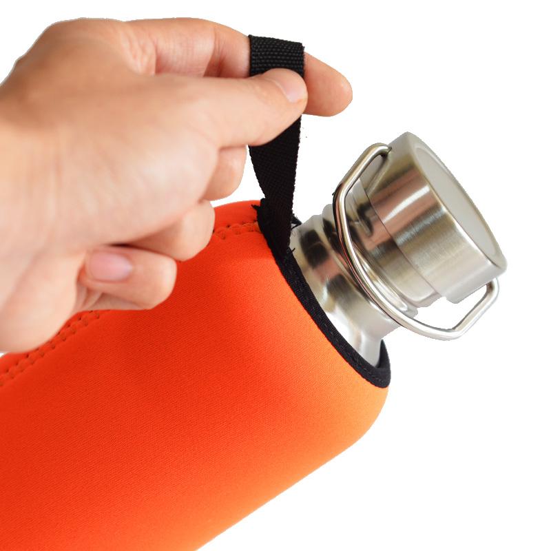 Fashion Water Bottle Sleeve Bag Neoprene Bottle Cover Insulator Sport Shoulder