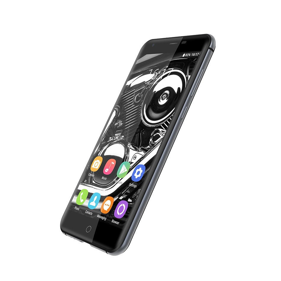 Oukitel K7000 4G Fingerprint ID Smartphone Android 6.0 MTK6737 Quad Core 1.3GHz 5.0″ HD IPS Cellphone 2GB+16GB 8MP Mobile Phone