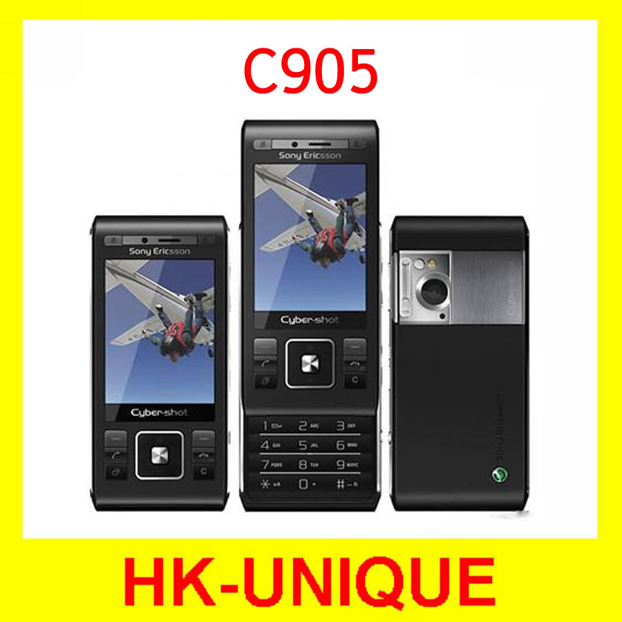 Sony Ericsson C905 3G Network WIFI GPS Bluetooth 8mp Camera Cell Phones Free Shipping(China (Mainland))