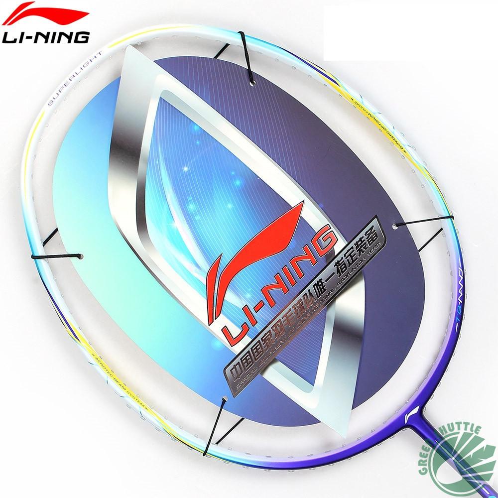 2016 Li Ning Nano Carbon Fiber Badminton Racket Super Light Nanoray WindStorm Series WS 300 500 600 700 Badminton Racquet(China (Mainland))