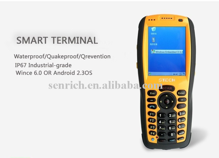 Touch Screen PDA with WinCE OS,PSAM,RFID,GPS,Camera,Barcode Scanner,GPRS,Bluetooth,WIFI,3G(China (Mainland))