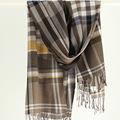 100 Wool Autumn Winter Plaid Tassel Women s Scarf 2016 High Quality Luxury Brand Ladies Scarves