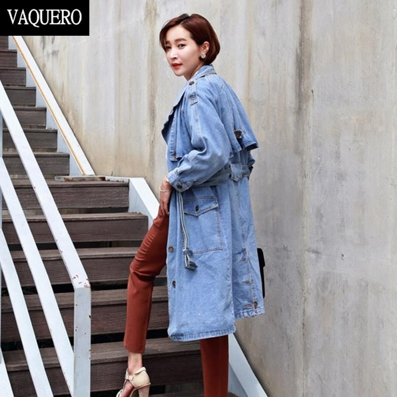 Special Offer! Classic Style Casual Denim Trench Coat And Jackets For Women Long Jacket Womens Autumn &amp; Winter 2015Одежда и ак�е��уары<br><br><br>Aliexpress