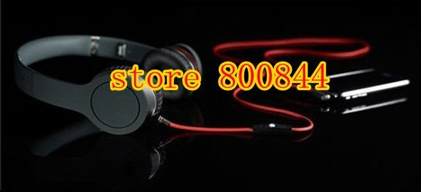 DHL Free shipping for newest  brand new  top quality  headphone with control talk black color accept wholesale and dropship
