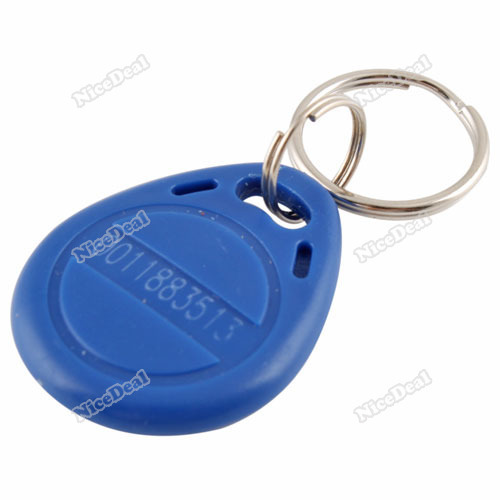 nicedeal 5PCS Proximity ID Token Tag Key Fob Keyfobs 125Khz RFID High Quality(China (Mainland))