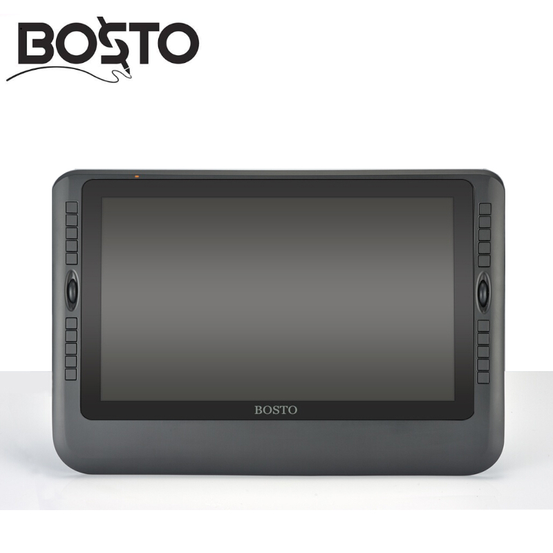 BOSTO KINGTEE 14WX interactive pen display pen dispaly tablet monitor Graphic IPS HD pancel 1920*1080 with shipping free(China (Mainland))