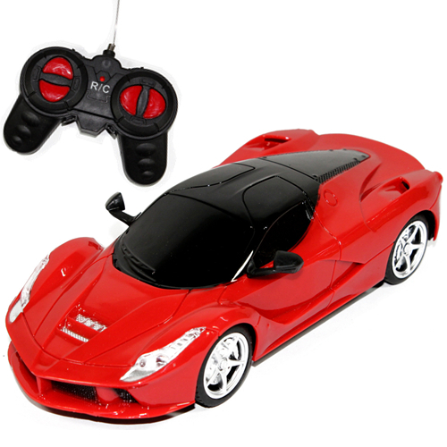 High Quality 1/24 rc car radio remote control drift cars toys wireless electric car with LED light toy gift for children boys(China (Mainland))