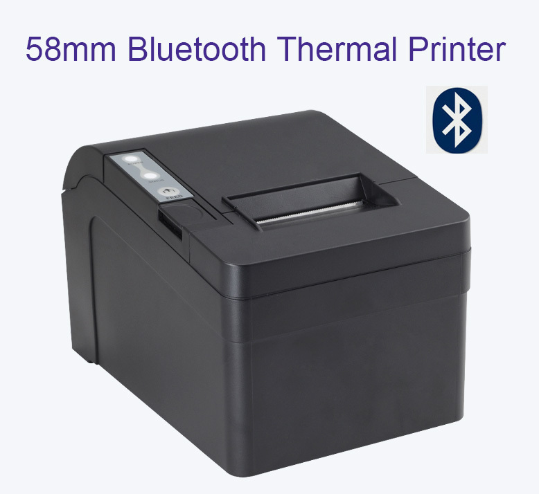 58mm Portable mini Bluetooth Thermal Printer /POS system  receipt printer(China (Mainland))