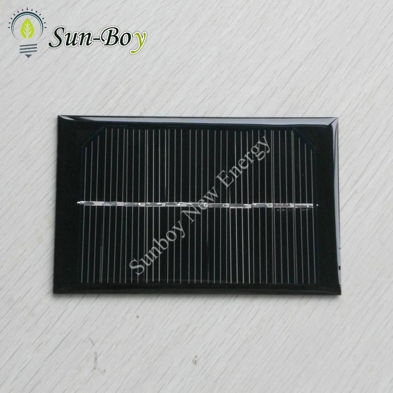 50pcs/lot 120*70mm 5.5V 1W Small Solar Cell(China (Mainland))