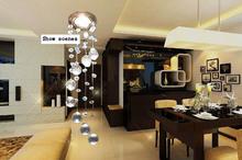 LED Bulbs 80-260V NEW 2015 Energy Saving LED crystal chandeliers lights modern crystal lamps aisle high power lights *(China (Mainland))