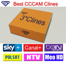 Best 3 clines CCCAM guarantee one year. you can have a test c-line .The cline support skylink,UPC,Canal+,mediaset and so on(Hong Kong)