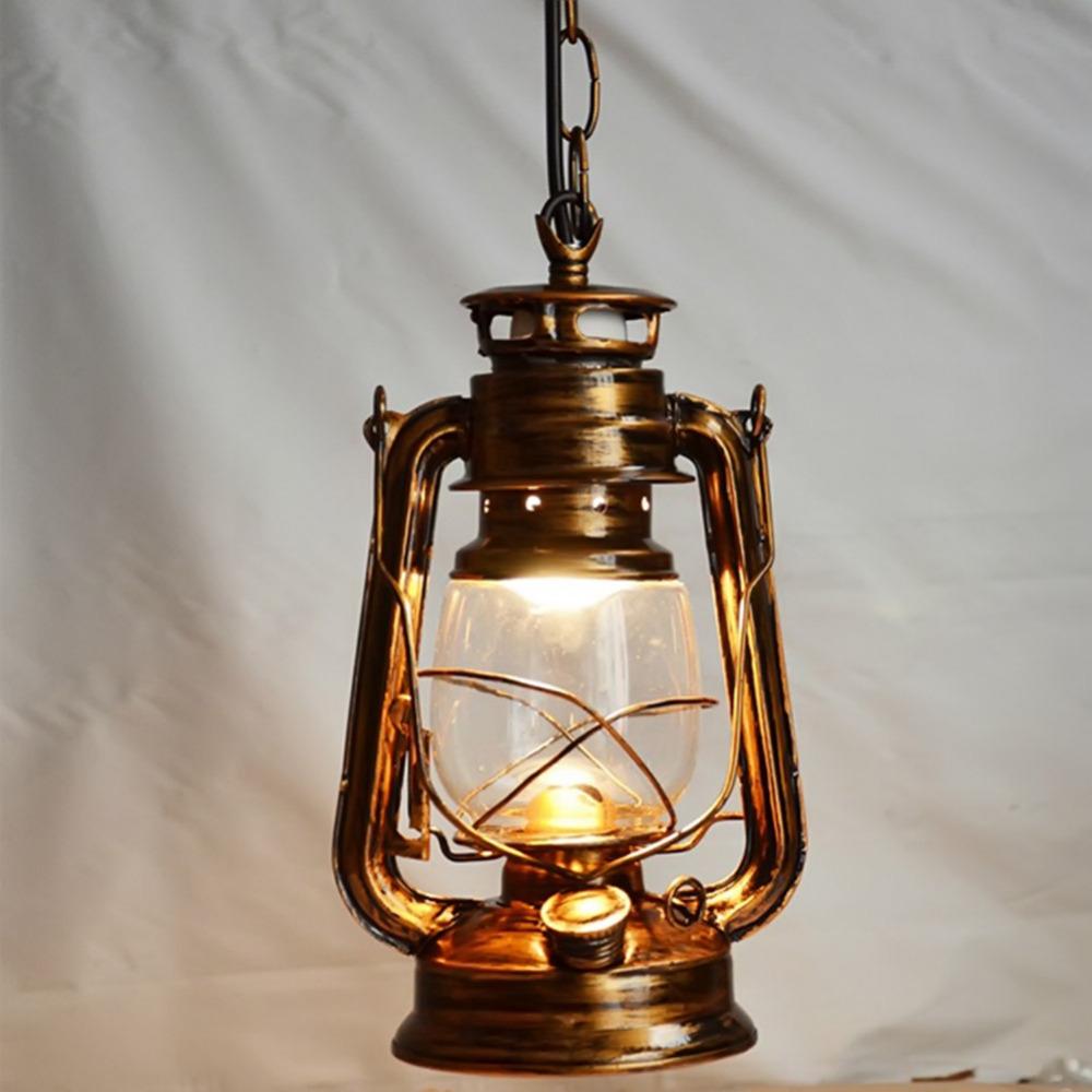 250mm-160mm-Vintage-nostalgic-lantern-kerosene-lamp-pendant-light-bar-entranceway-lamp-E27-lamp-base-antique (1)