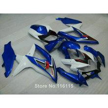 Buy Injection fairing kit SUZUKI K8 GSXR 600 700 2008 2009 2010 white blue motorcycle parts GSXR600 GSXR750 08 09 10 fairings X5 for $339.48 in AliExpress store