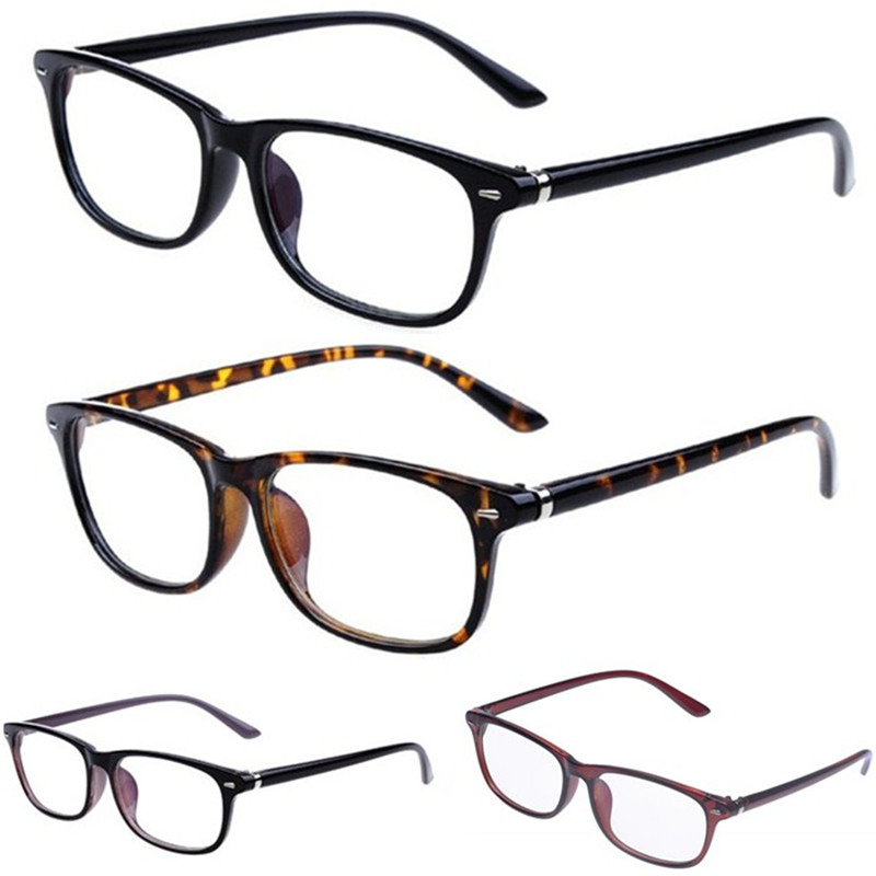 Trendy Men Women Retro Radiation Resistant Fatigue Protection Clear Lens Glasses Reading Computer PC TV Nerd Geek Eyeglass UV400(China (Mainland))