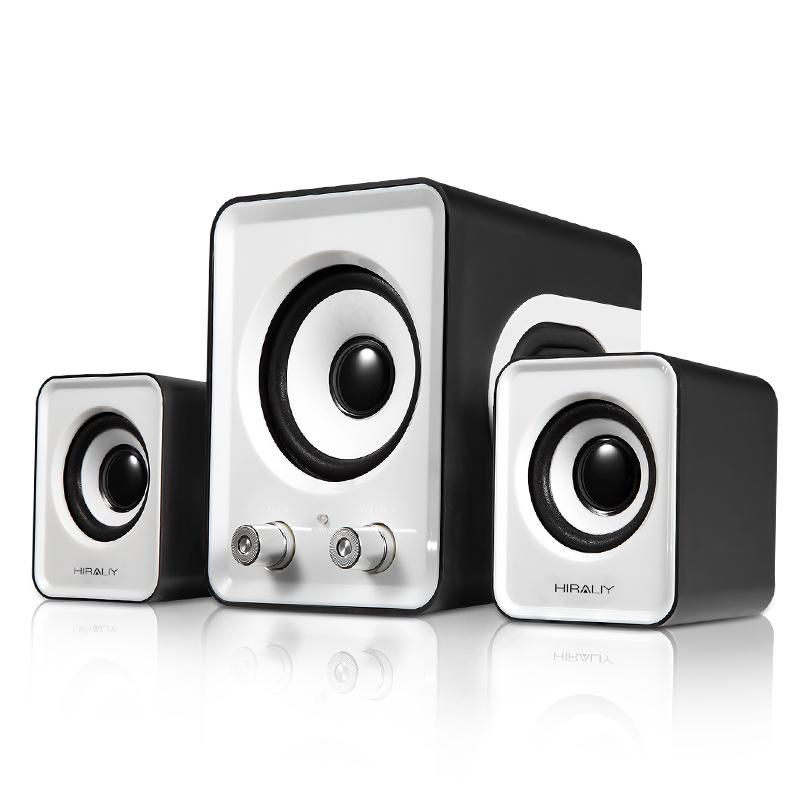 Hiraliy a8 notebook desktop 2.1 multimedia sound mini speaker subwoofer(China (Mainland))