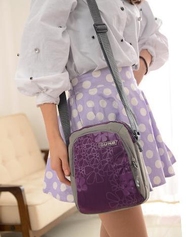 BEST Multifunctional bag small shoulder bag chest pack College Wind Korean tide male mini shoulder bag canvas travel(China (Mainland))