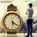 NEW High quality Unisex Men s Fashion Leather Band Analog Quartz Round Wrist Watch Watches