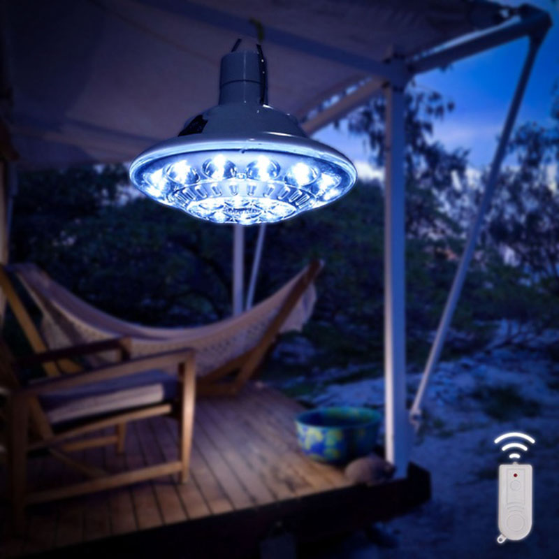 2016 Newest Portable 22LEDs Solar Powered Led Bulb Light Outdoor Solar Energy Lamp Lighting for Hiking Fishing Camping Tent RV