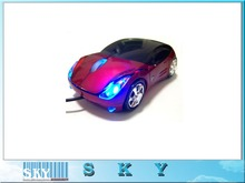 Free Shipping, Car Shape USB 3D Optical wired Mouse Mice for Computer Laptop(China (Mainland))