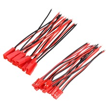 10Pairs 100mm JST Male Female Connector Plug for RC Quadcopter Drone Lipo Battery Replacement Spare Part Helicopter Accessories