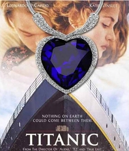 Titantic Heart Of Ocean Love Fashion Crystal Necklaces For Women 2015 Pendant Necklace Jewelry Short Necklace B74