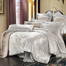 Luxury Tencel Modal silk Jacquard bed linen bedding set bedclothes Bed Sheet /duvet cover set bedspread jogo de cama colchas(China (Mainland))