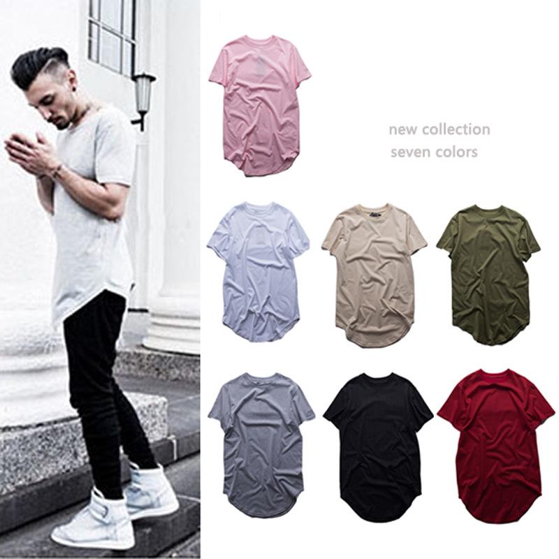 2016 Mens T-shirt Cotton 7Colors Tshirt Summer Tops Sports Street Style Short Sleeve Tees 850249(China (Mainland))
