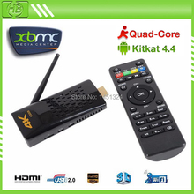 CS008 MK3288 Mini pc Android Quad Core HDMI TV Stick Amlogic 2GB ram 8GB support DLNA Miracast Bluetooth XBMC Watch online TV