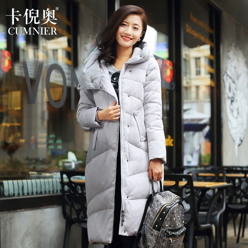 2015 new heat winter Thicken Warm Woman Down jacket Coat Parkas Outerwear Hooded long plus size 2XXL Loose Luxury fashion(China (Mainland))
