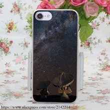 655N Satellite Array Night Hard Case for iPhone 7 6 6s Plus 5 5s se 5c 4s for Samsung S3 4 5 & Mini S6 S7 Edge Plus