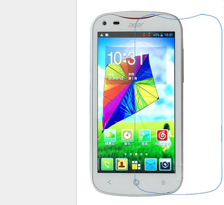 Screen Protector Explosion proof phone film Anti-Fingerprints for Acer V370 Liquid E2(China (Mainland))