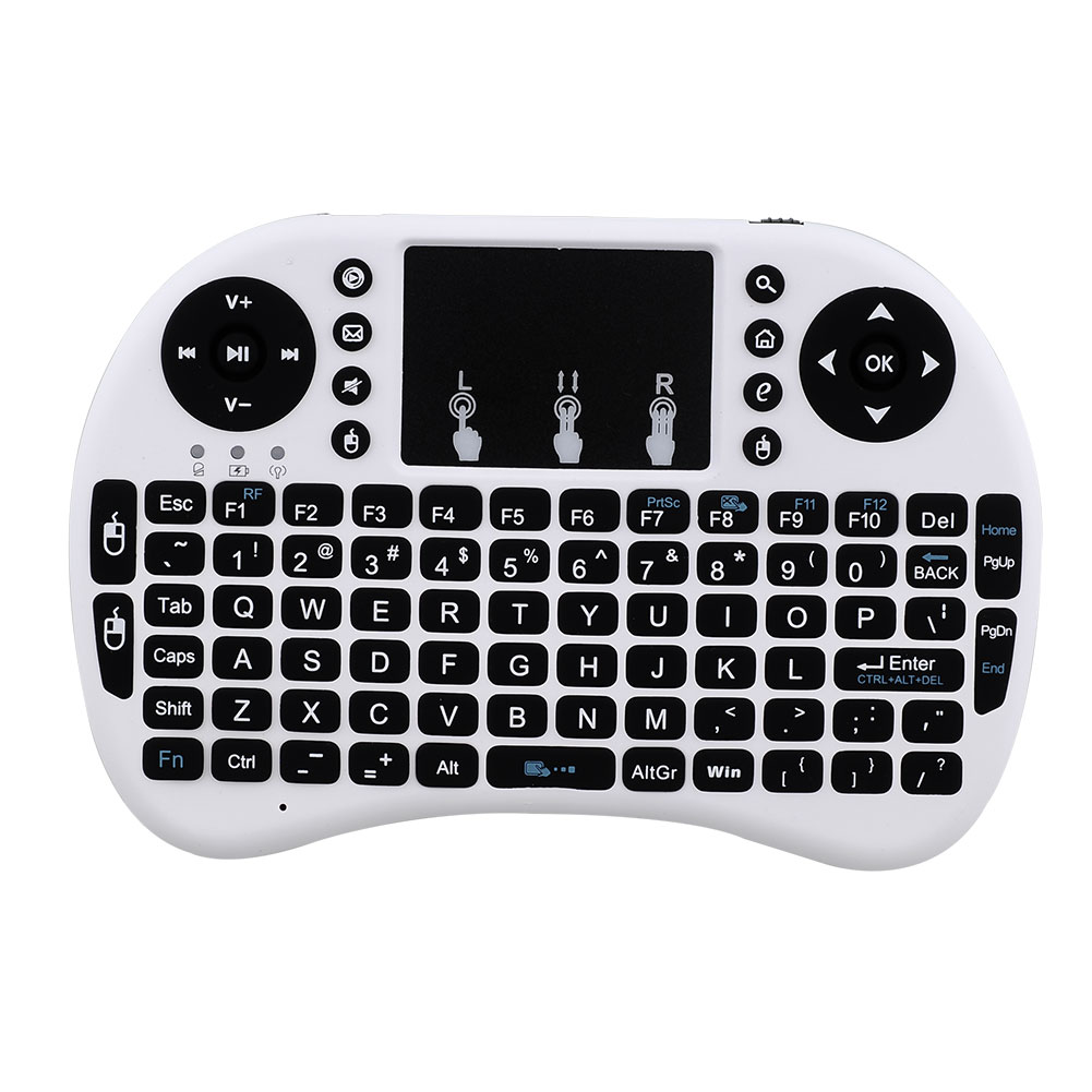 Mini Perfect Portable Multi-media Remote Control Handheld Wireless i8 keyboard Touchpad For PC Android TV X-BOX(China (Mainland))