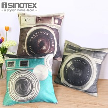 Vintage Camera Cushion 45 45cm 17 7 17 7 Wholesale Home Decor