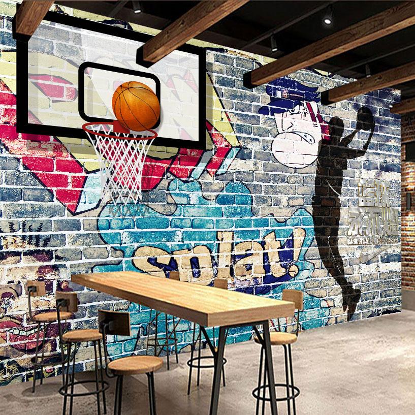 Graffiti basketball wallpaper