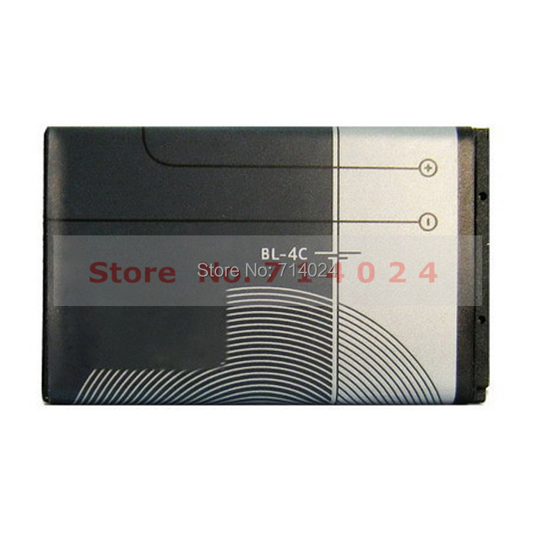 Original BL-4C High Capacity Cell Phone Battery BL4C Replacement Batteries For Nokia 6300 6136 6102i 6170 6260 Free Shipping(China (Mainland))