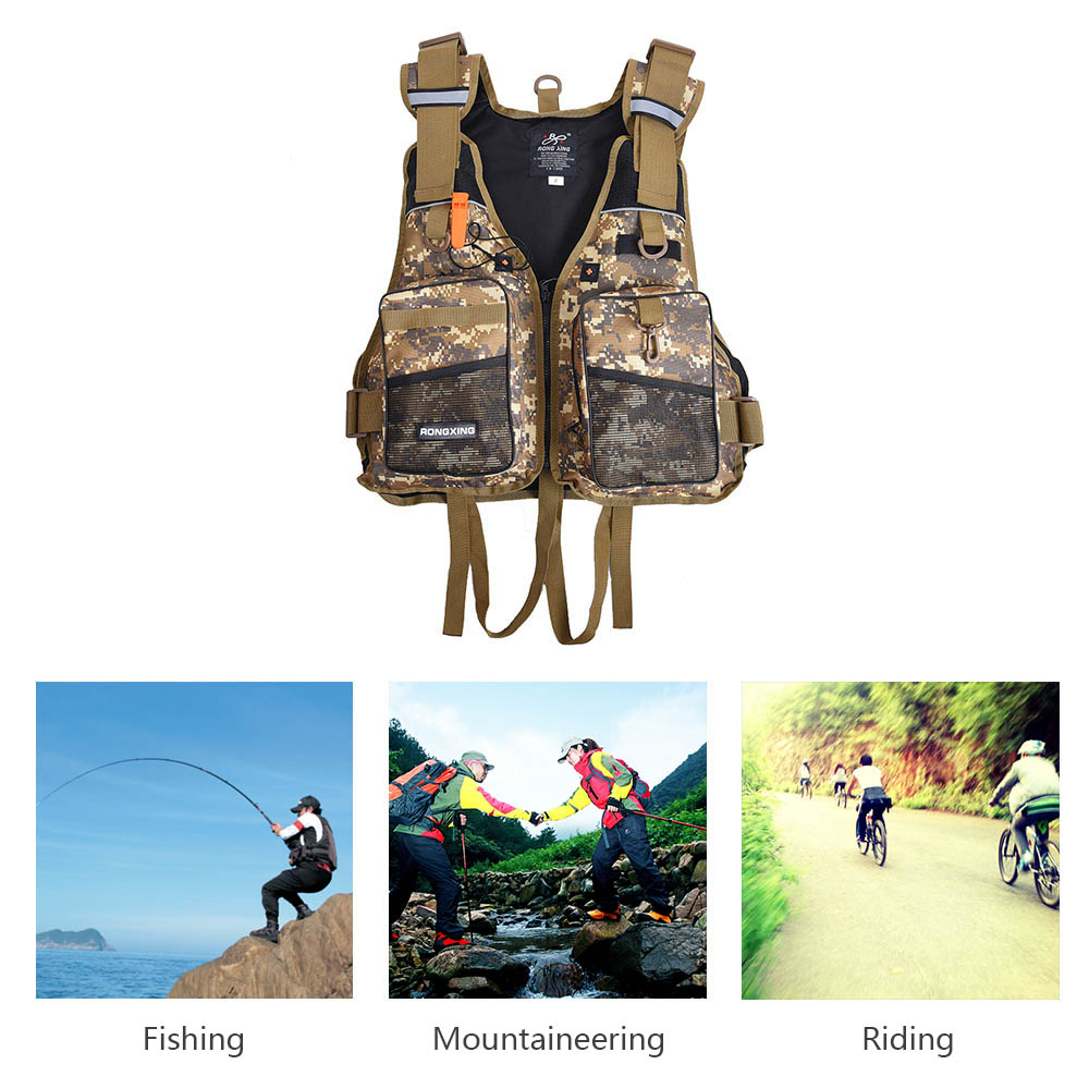 Professional Life Vest Life Safety Fishing Clothes High Quality Life Jacket Water Sport Survival Suit Outdoor Swimwear(China (Mainland))
