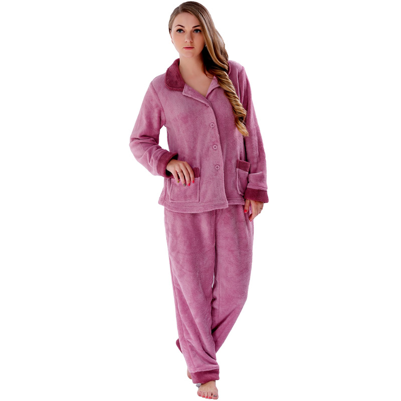Popular 2 Piece Ladies Fleece Pyjamas-Buy Cheap 2 Piece Ladies ...