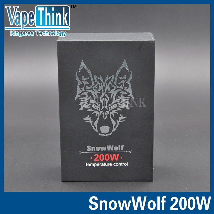 Authentic Sigelei SnowWolf 200Watt updated V1.5 box mod Snow wolf Temperature Control Mods SnowWolf 200W <br><br>Aliexpress